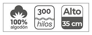 sabanas de 300 hilos estela