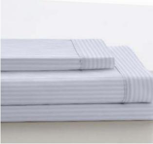Color sábana Satén Es-Telia Blanco-Listado