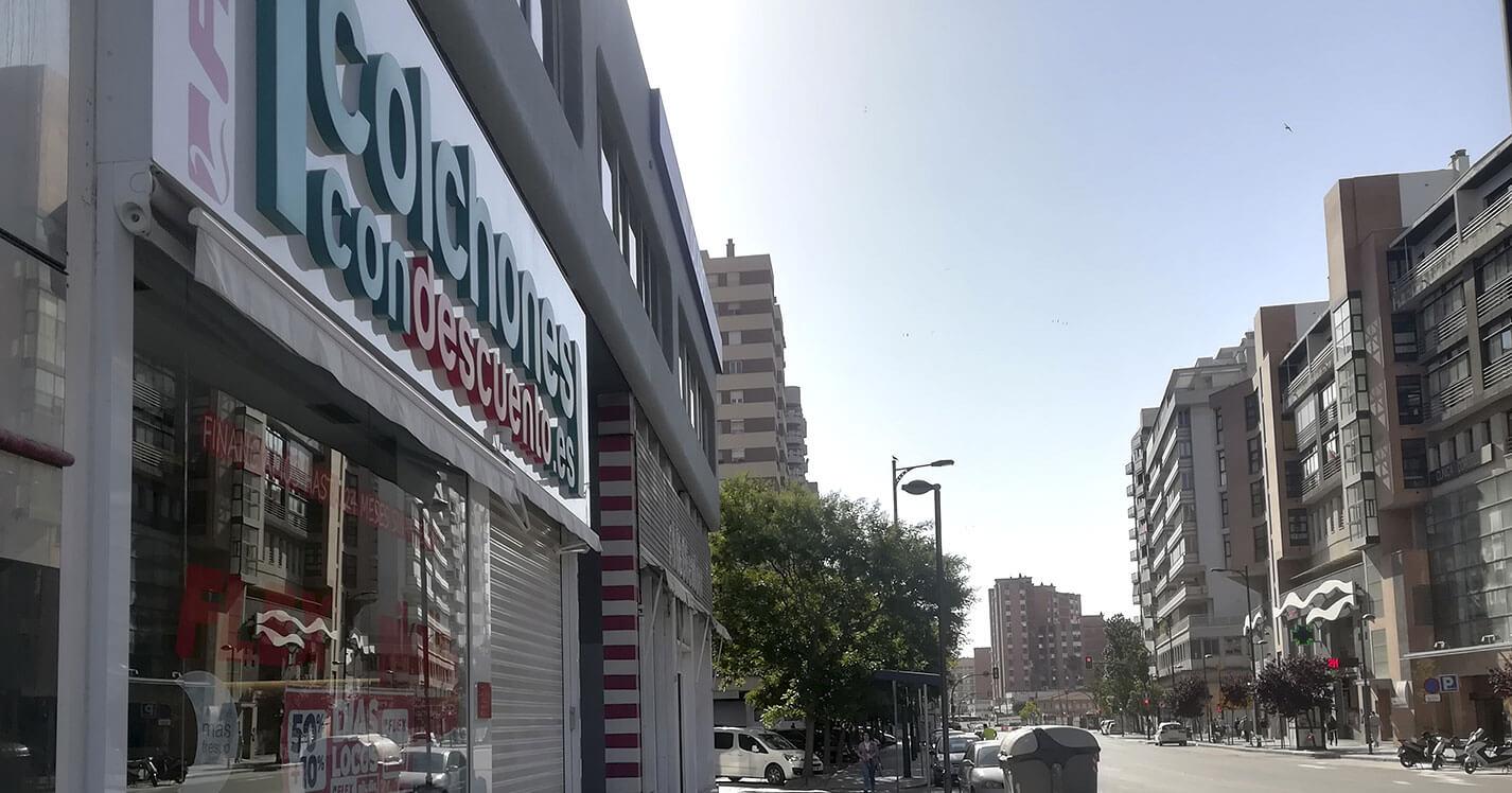 Tienda colchones Málaga Centro