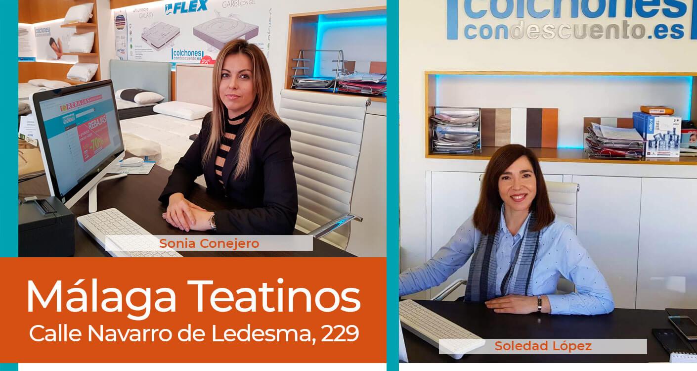 Tienda colchones Málaga Teatinos
