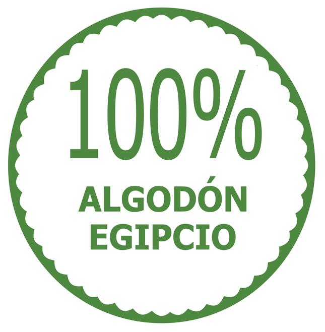 algodon egipcio 100%