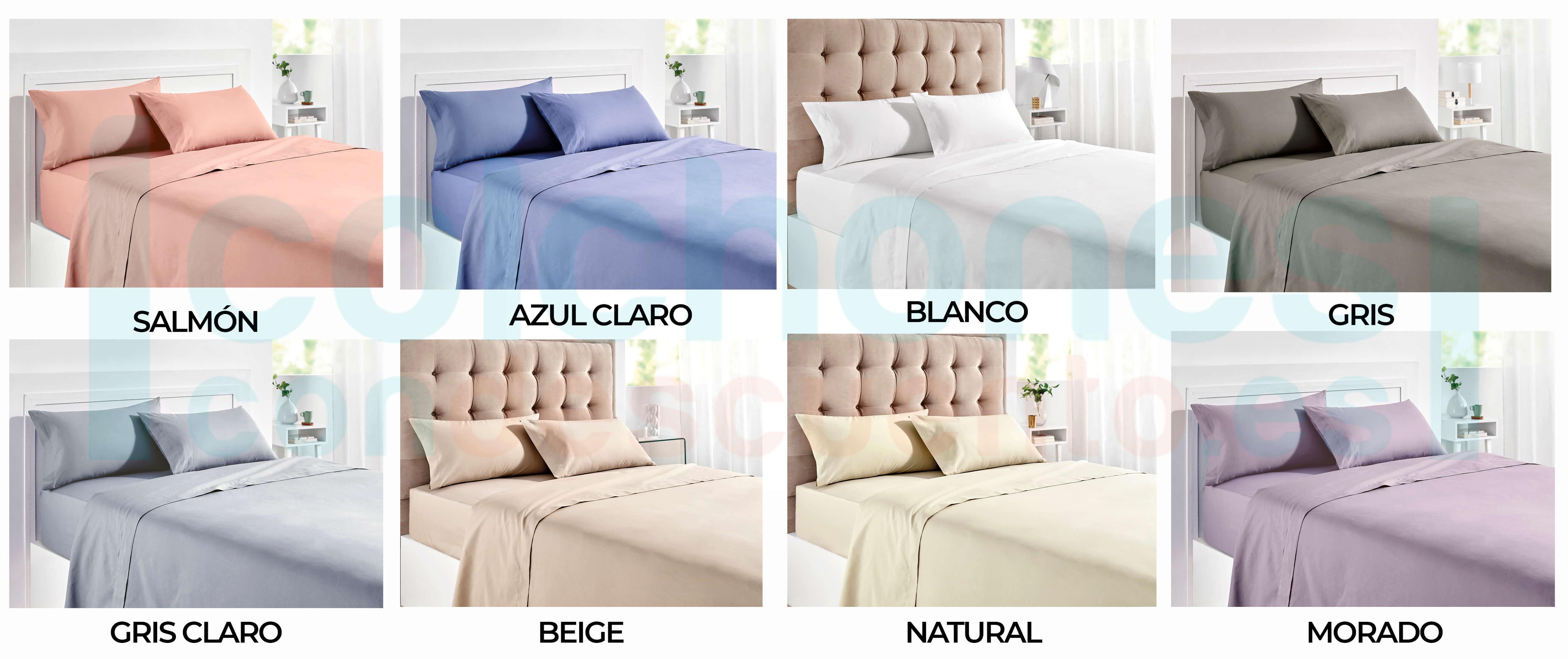 colores juego de cama pikolin home