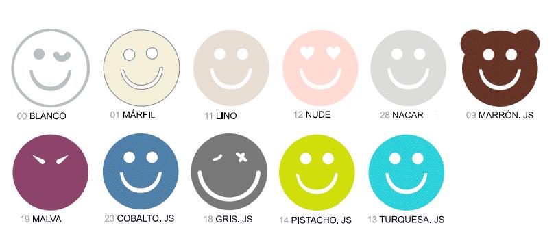 Colores Juego Sábanas Happycolor