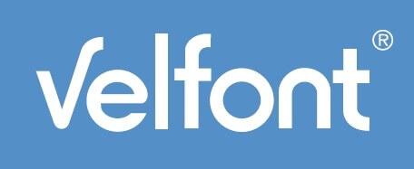 logo del fabricante velfont
