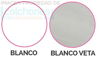 colores blanco y gris canapé flex con zapareto
