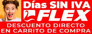 DÍAS SIN IVA FLEX Desc. Directo · Modelos Seleccionados