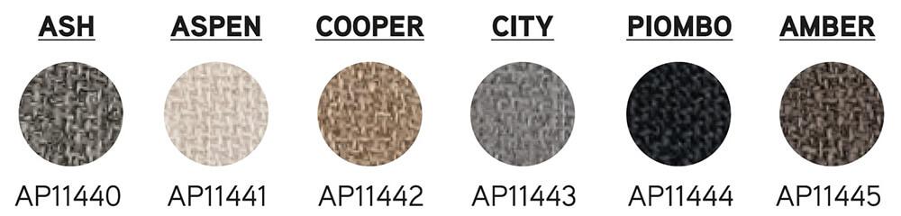 colores canapé abatible textil de pikolin